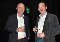 Tino Rikkers (Team manager bij Royal FloraHolland) Andre vd Ouden (Strategic Account manager Royal FloraHolland)