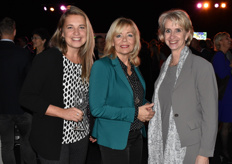 Yvonne van Santen (ISW), Ingrid Duynisveld (Duynisveld events communicatie) Jolanda Heistek (Greenport West-Holland)