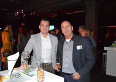Danny de Ridder (King Nederland) en Rob Batist (Green Sales Promotions)