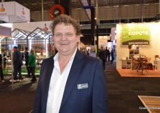 Raymond Zwirs van Zwirs Horti Projects is even uit hun stand
