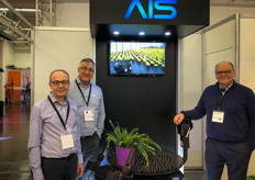 Robert Vahedi, Afshin Doust & Saeed Govahi with Advanced Intelligent Systems (AIS), a custom robotics company that creates robotic solutions for every task, but particularly to solve labor shortage problems in the horticulture industry.