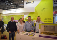 The team with Biobest: Sven Goransson, Michelle Kristoffersen, Arno Hellemons & Marcus Hofman