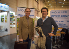 Are they joining Moleaer? In the photo Peter Barentsen & Arnold de Kievit with Oreon.