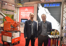 Louis Damm & Kurt Becker with Dramm