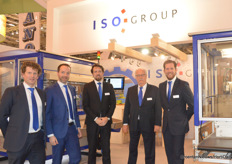 Teampicture time by ISO Group with Wim van der Meijden, Paul Blom, Willem van den Berg, Robert van Arnhem and Raymond van den Berg.