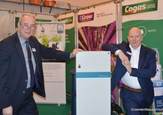 Henk Daniëls (Cogas Zuid) and Jan Vos (Priva) were, like last year, a team on Tuesday and Wednesday at IPM