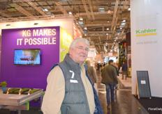 Jan Verbraeken of Gartenbau Versicherung visited IPM
