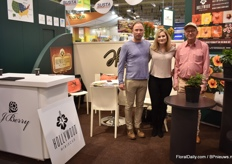 Jonathan Berry, Tamara Risken and Jim Berry of J. Berry Nursery presenting their Hollywood Hibiscus series. This brand is on the market for about 4 years now.