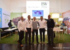 The team of Proven Winners Europe. Proven Winners comes from the US and 15 years ago, they started up Proven Winners in Europe. Proven Winners has nurseries all over the world and work with breeders from all over the world. They trial and select the best ones - with the demands of the end consumer as main focus.