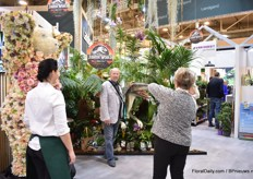 The Jurassic Park theme of Landgard that was launched last year was still attracting the attention this year.