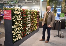 Torben Ryg of Rosa Danica. This Danish pot rose grower was satisfied with the 2019 results.