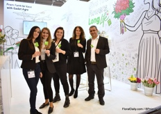 The team of Gadot Agro for the first time with a booth at the IPM Essen. Their product Longlife was their main focus at their booth. They want to transmit the idea that flowers should be treated the whole chain and with the T.O.G. Line and Long Life - Cut Flower Food, they enable the chain to do so.