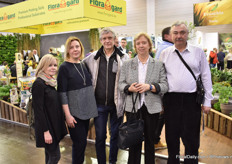 The team of FlowersExpo, which will be held from September 8-10 in Moscow, Russia, together with the men from Sadka Plant from Russia were visiting the show.