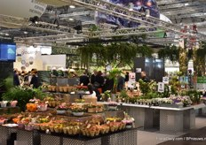 In Hall 6 again this year, the Danish growers.