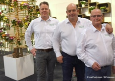 On the stand of Armada Ralph Koopman, Gerard Leentjes and René van der Kamp spoke to everyone who wanted to know something about their chrysanthemums.