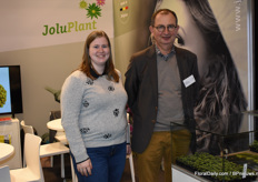 Charlotte Verbrugghe and Luc Pieters of Jolu Plant.