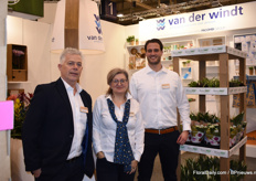 Hans van der Knaap, Gabrielle van Dam and Ceciel de Keijser manned the stand at Van der Windt verpakkingen.