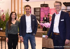 Among others, the Floricultura booth was manned by Marc Eijsackers, Niels Kuijper and Elisa Morrazo González.