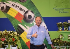 Gert Jan Kromhout of Klavervier PlantSales.