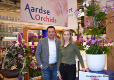 Wouter Konijn and Ilse Vink of Aardse Orchids emphasized their transition from Asian to European cutting material. From next summer onwards the transition will be complete.