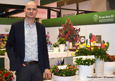 At this year's edition, Albert van Veen of M. van Veen gave extra attention to his Euphorbia Milii and the Granvia Gold of MNP Flowers. Albert offers beautiful starting material for these (and other) varieties.