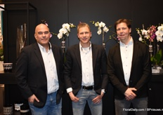 Micha Groothuizen, Rick van Vliet and Leon van der Voort, Levoplant. They presented the new concept Hadithi that they also introduced at this fair.