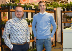 Teunis Versteeg and Jurre van Veen, both from Kwekerij De Liesvelden and, presented their primulas. Starrting from the second quarter of this year they will have completely switched to carbon-free growing pots.