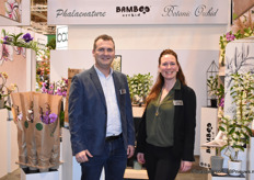 Arjan Sonneveld and Otti Blok of Wooning Orchids presented their Phalaenature and Bamboo Orchids concepts at the fair. In both concepts they focussed on sustainability.