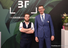 For the first time Joey Stalman and Helmer van Wezel were exhibiting under the new name, The Green Brand Factory.