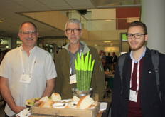 Robert Colangelo (Green Sense Farms), David Ryall (BC Hot House) and Konstantin Knapp (Growmo)