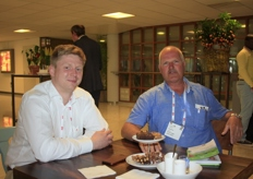 Maarten Vandecruys (Urban Crop Solutions) and Nico Jong (Jong Nursery)