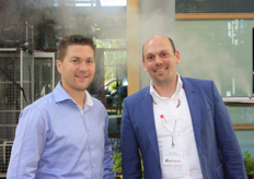 Joost Looijmans van Cotronics Engineering en Paul Bols van Westland Partners